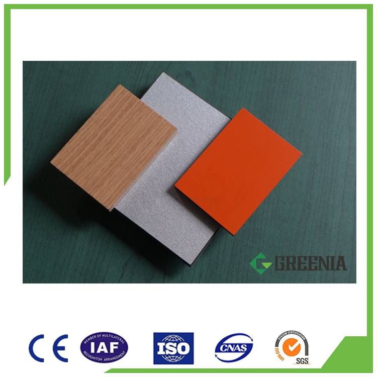 Compact laminate price table tops Phenolic hpl board for countertops