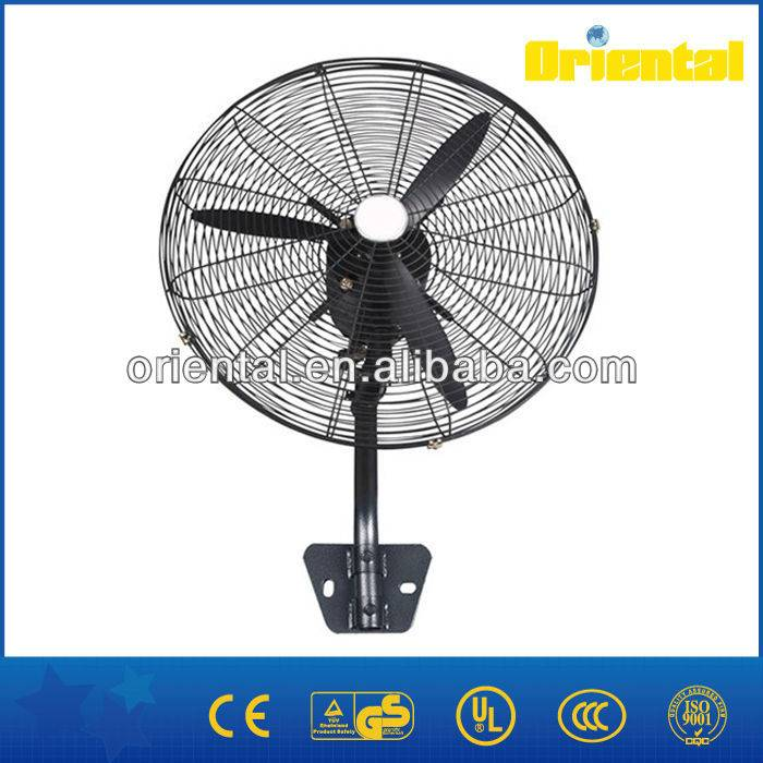 Powerful wall mounted fan industrial wall fan