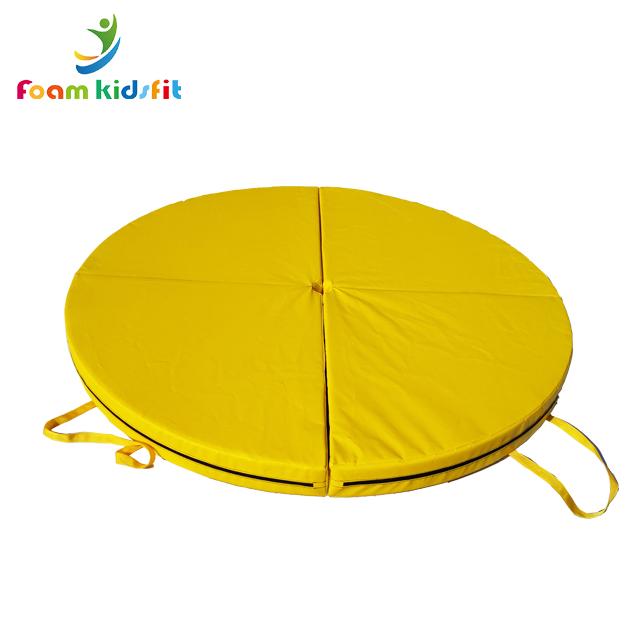 Gymnastic folding pole dance mat crash mat
