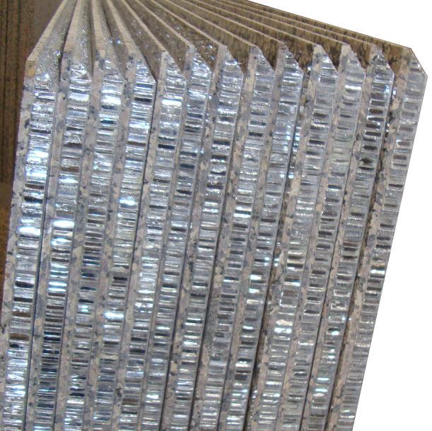 Curtain Wall - Honeycomb Stone Panels