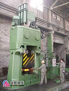 numerical control hydraulic close die forging hammer