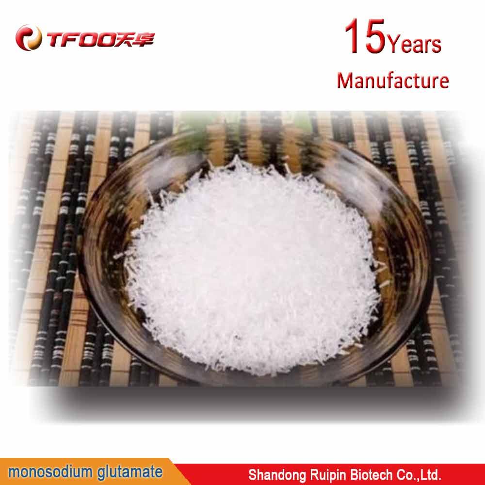 Cooking Ingredient 100Mesh 99% Monosodium Glutamate MSG Powder