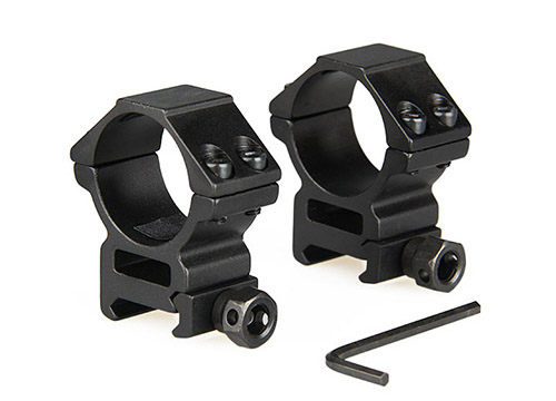 GZ24-0082 tactical windage & elevation rifle gun sight scope mount 30mm riflescope scope mount