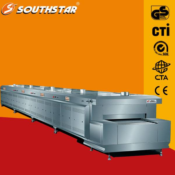 Bakery tunnel oven,professional food production gas tunnel oven