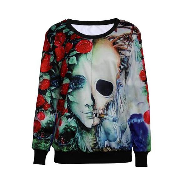 Sublimation All Over Print Crewneck Sweatshirt/Custom Sublimation mens Hoodies