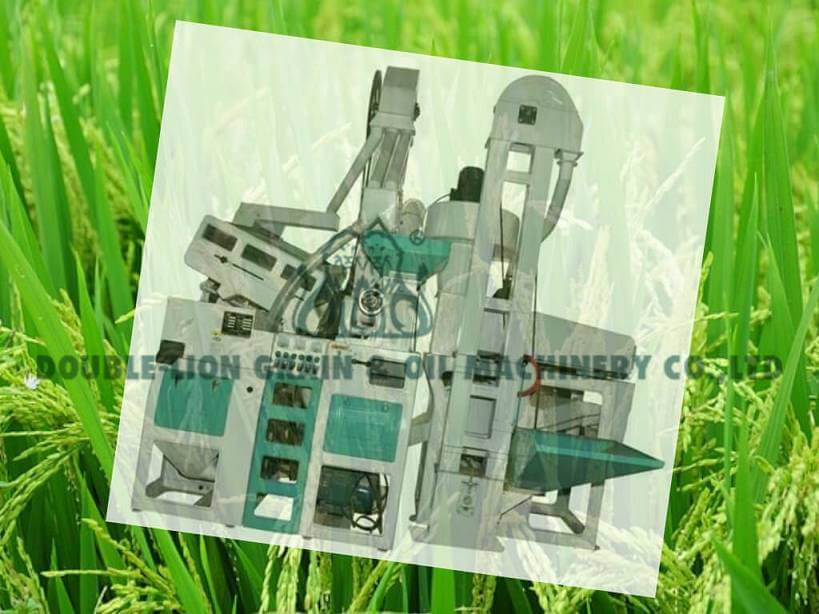6LN-15/15SD Combined Rice Mill