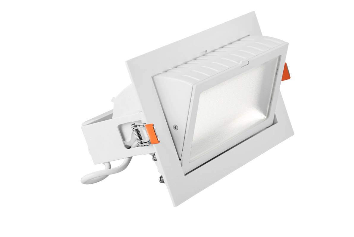 60W square led downlight acrylic surface led ceiling light square recessed light cover