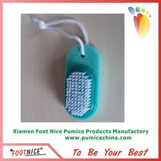 pedicure foot pumice sponges with brush