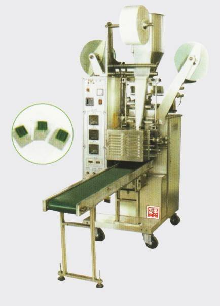 QD-11automatic tea bag with label packing machine