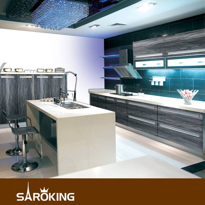 Factory Supply MDF Acrylic Kitchen Cabinet