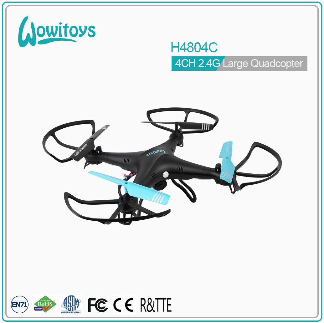 2.4G large RC quadcopter,Flying drone and drone with camera and fpv drone and china drone