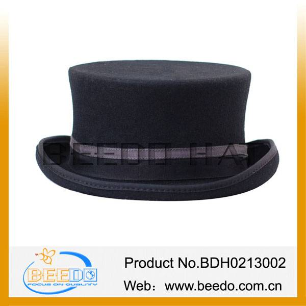 High Quality Wool Felt Top Hat for Adults and Children