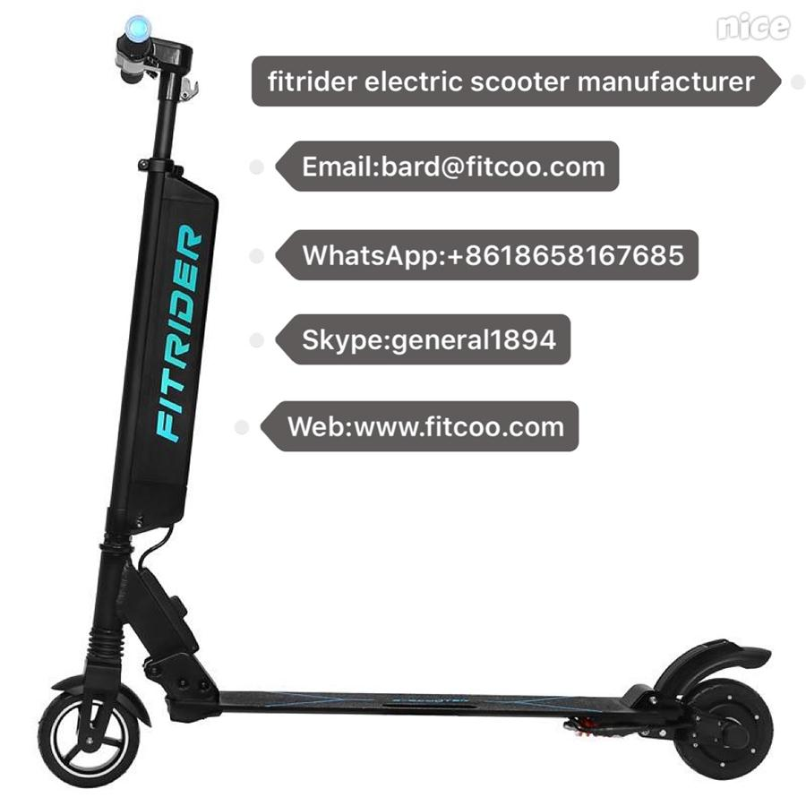 New Portable Electric Power Fitrider Scooter the Seat Can Be Added