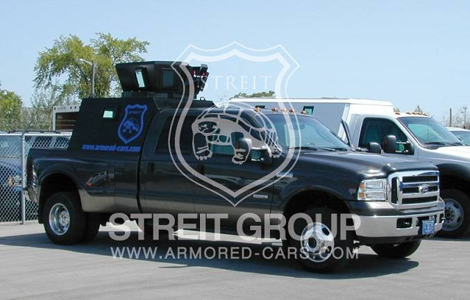 Armored Car BR6 / PM7 Level Ford F Series