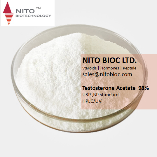 Hot Sell Good quality Steroids Powder: Testosterone Acetate in safe shipping