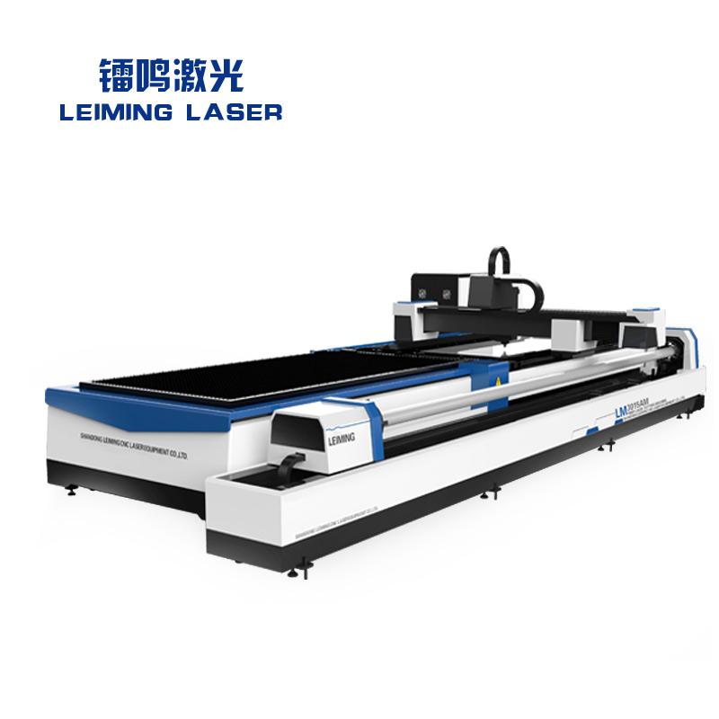 Metal pipe and sheet cnc fiber laser cutting machine