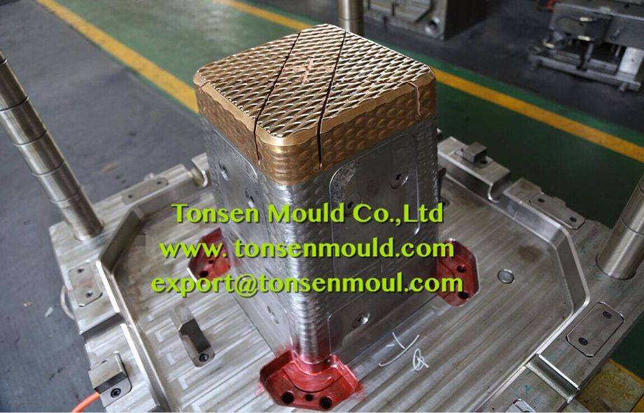 customer injection plastic rattan stool mould tooling
