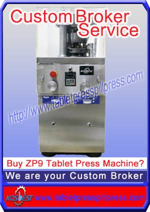 ZP9A rotary tablet press machine for pressing hard candies, throat lozenges and coffee pills