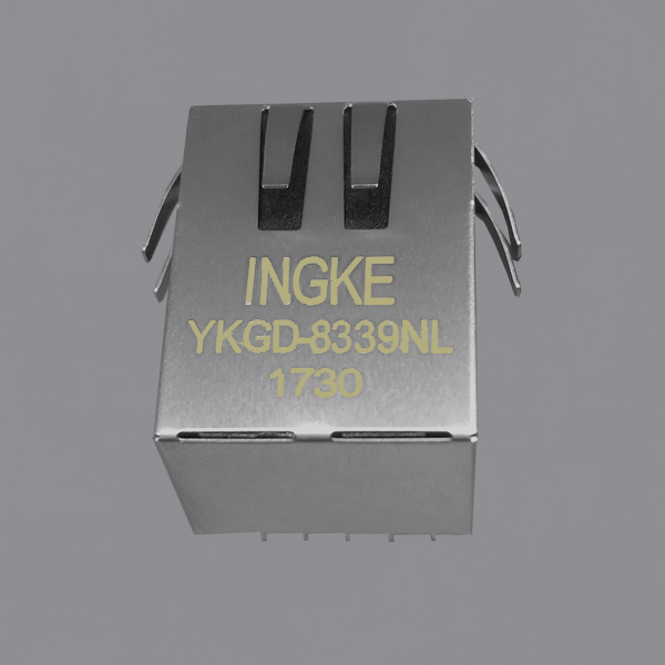 6605444-6 10/100/1000 Base-T integrated RJ45 jacks