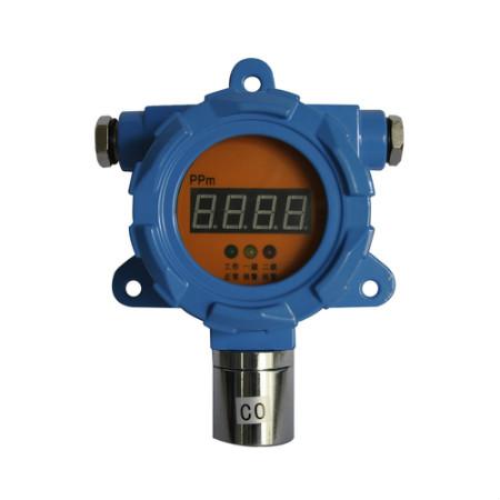 Display gas detection transmitter