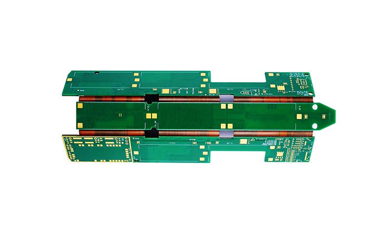 Custom multilayer flexible rigid flex circuit boards PCB