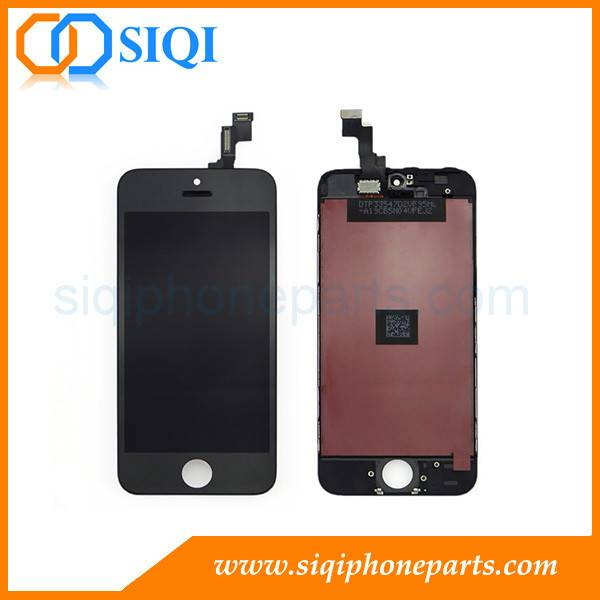China Low Cost For iPhone 5S Replacement Screen (Black)