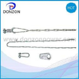 Helical Dead End Clamps for Short Span ADSS Cable