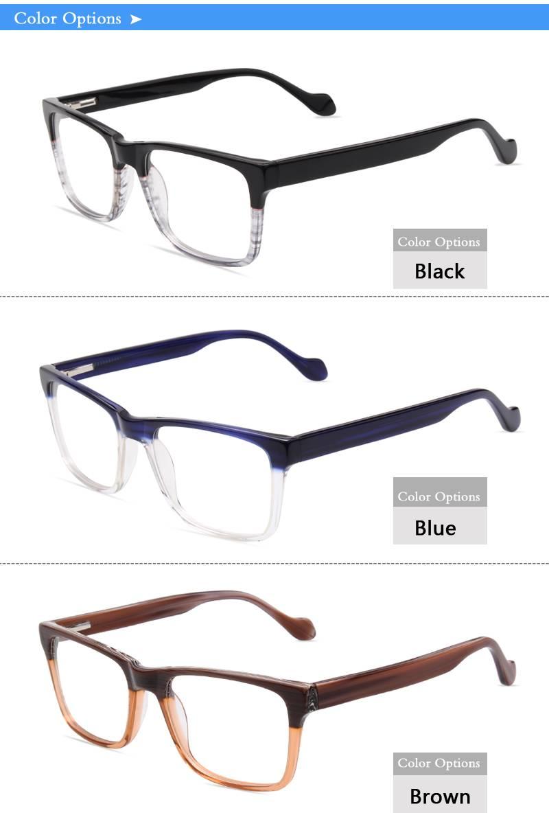 Fashion design acetate eyeglass optical frame JC9030 ready in stock