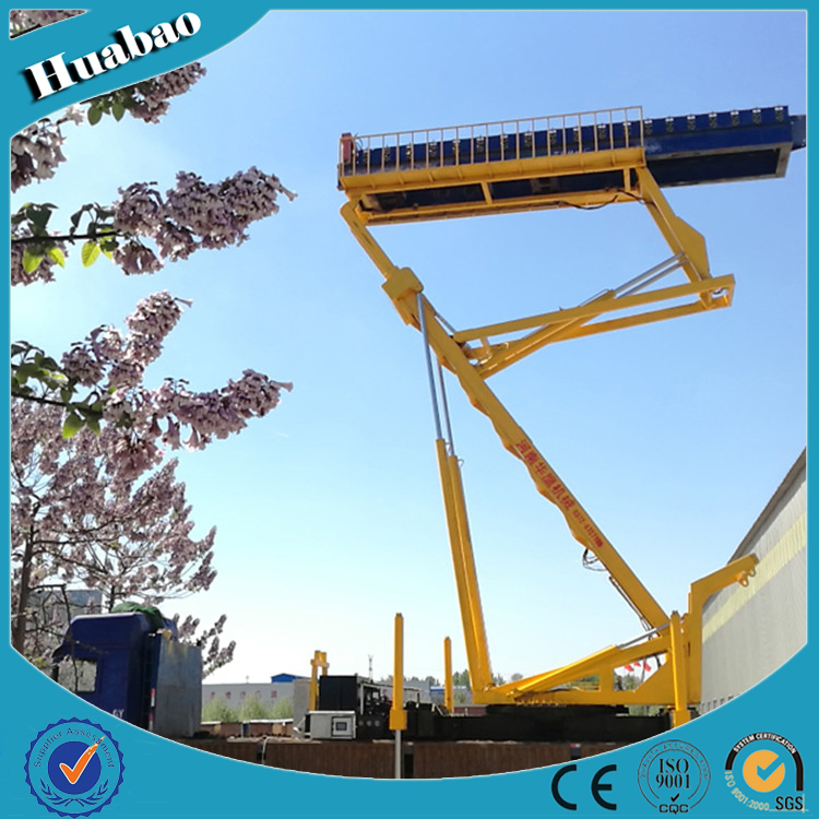 8T 16.5m high quality customized size Heavy duty lifting platform