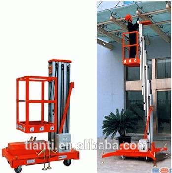 NEW mechanical indoor man platform hydraulic lifting equipment