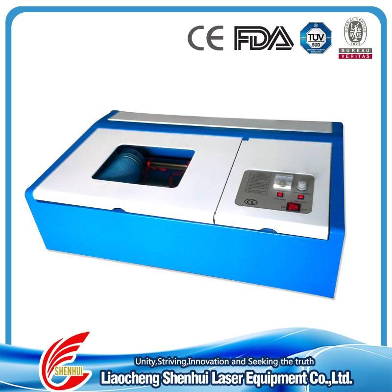 Mini Desktop CO2 Laser Engraving Stamp/Rubber Machine