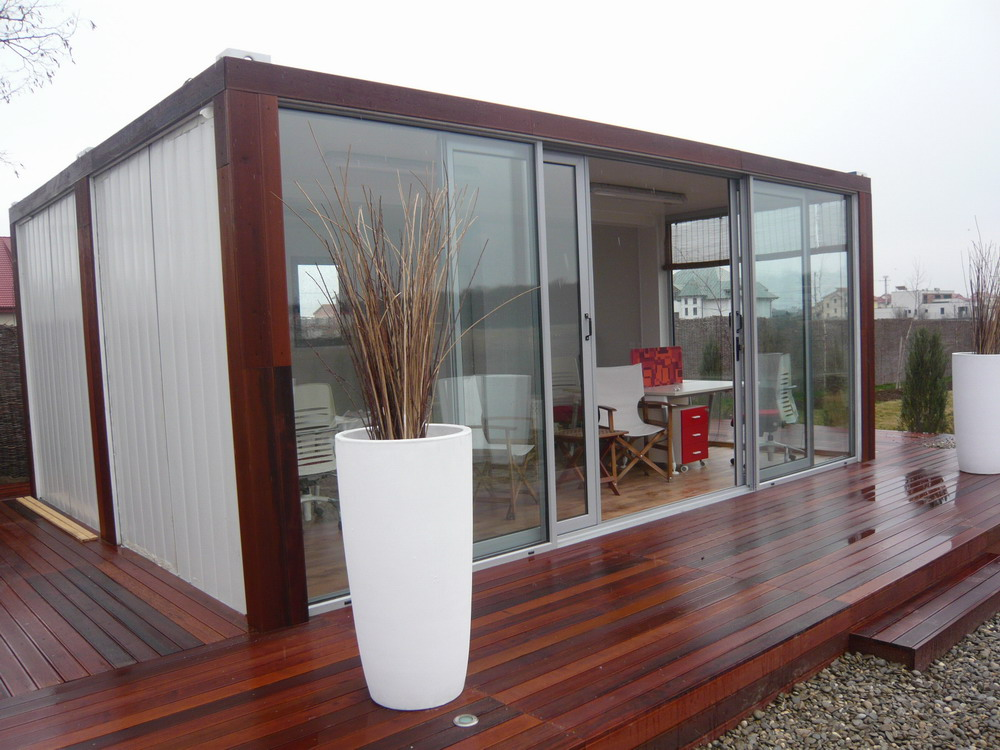 Luxury cargo 40ft prefab shipping container homes for sale - 40ft shipping container home ...