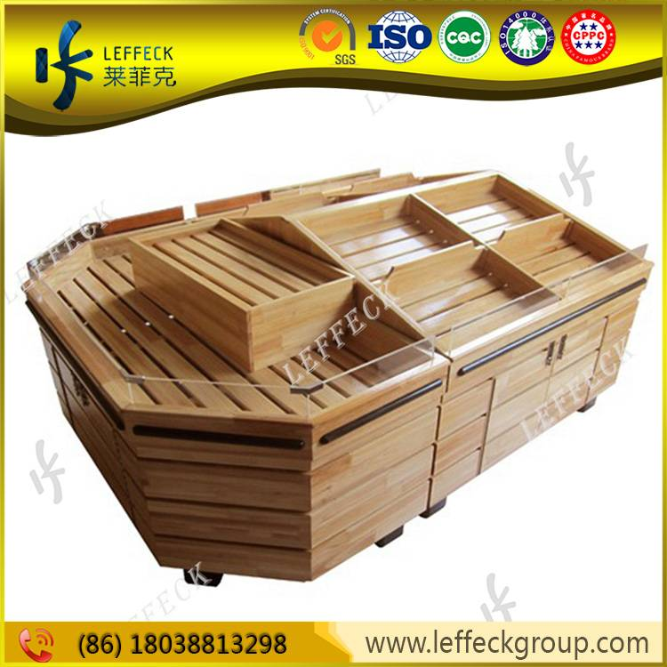 Wooden fruit and vegetable storage display stand for sale
