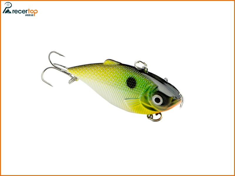 recertop fishing lures hard lures minnow vib