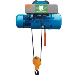 Frequency inverting wirerope Hoist