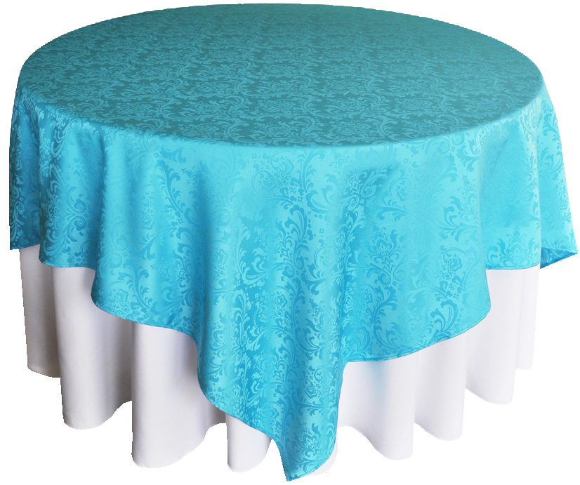 Solid color Polyester tablecloth for Restaurant Party and Bistros Buffet Table