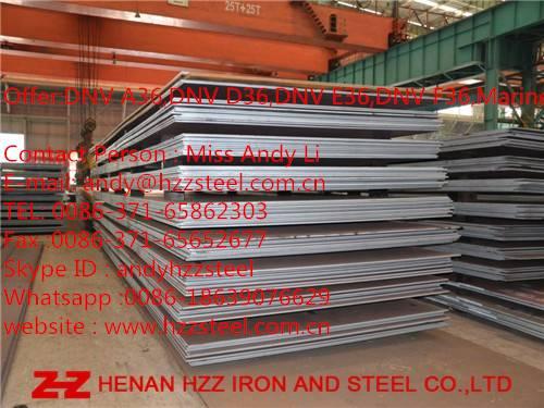 DNV A36,DNV D36,DNV E36,DNV F36,Steel sheet,Shipbuilding Steel Plate.