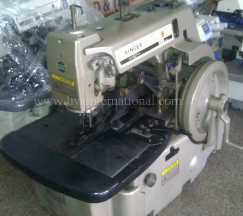 used second hand reconditioned SINGER 299U button hole eyelet industrial sewing machine