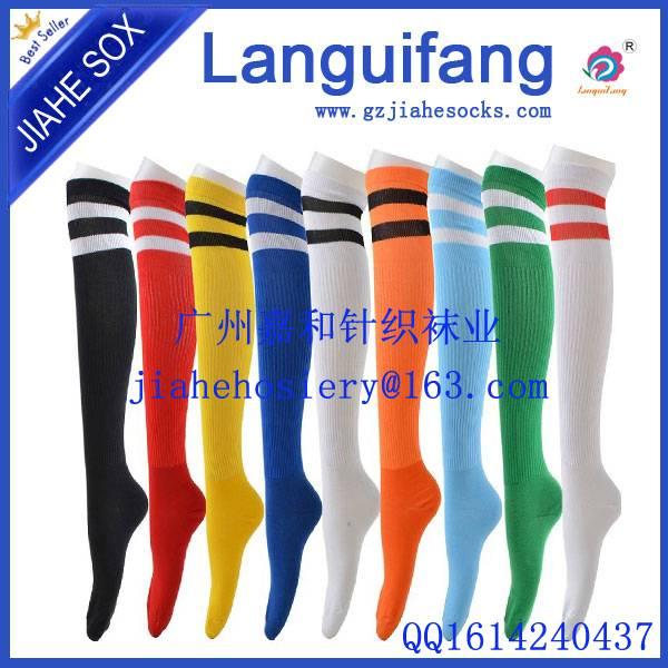 Men nylon cotton sports football socks