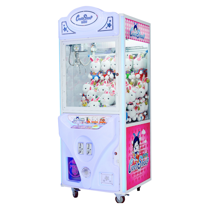 Arcade game coin operated prize machine kids game machine for sale