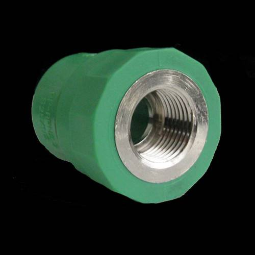 PPR fittings green female adapter