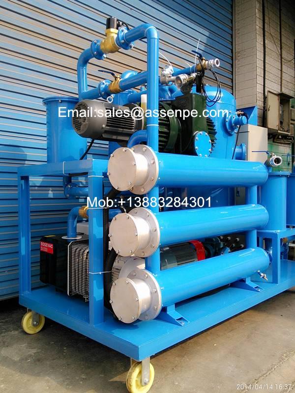 Ultra-Vacuum Transformer Oil Treatment, Oil Filtration Plant
