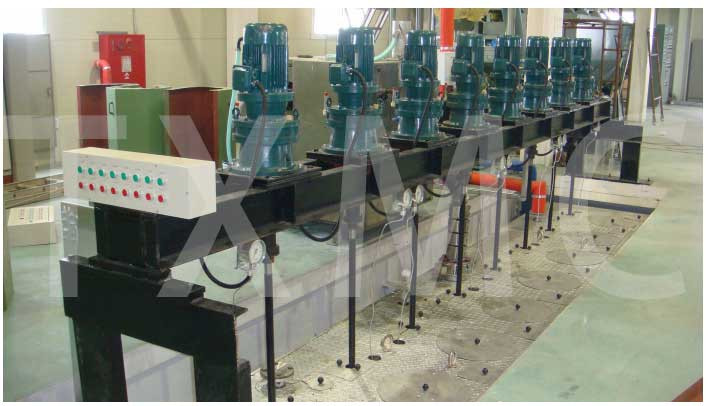 metering pump driving Spin beam for Recycled Polyester Staple Fiber Production Line