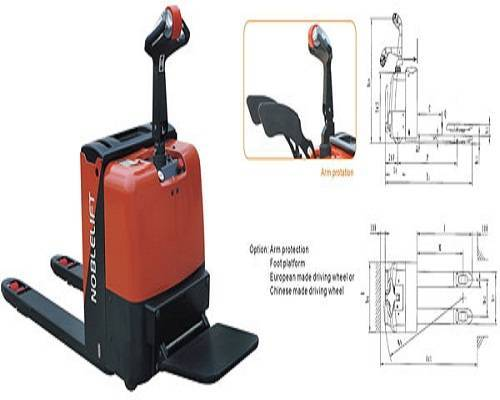 Power Pallet Truck WP-LPT20