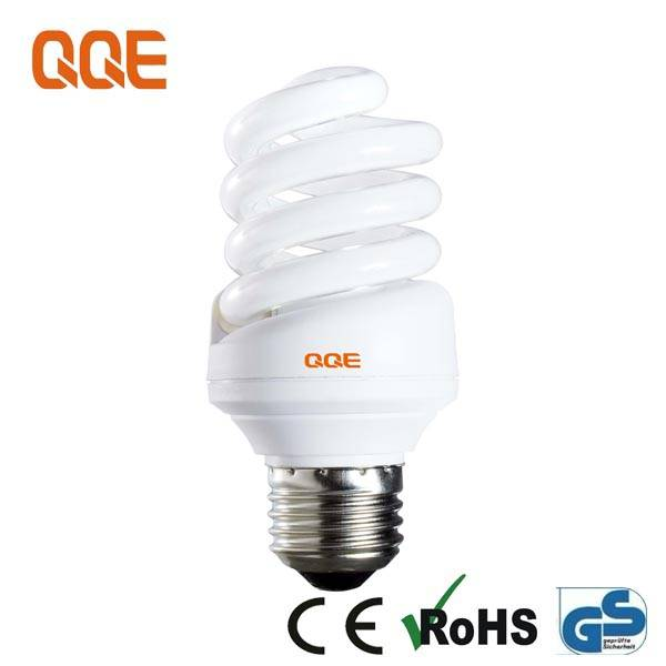 15W Full spiral Energy Saver bulbs