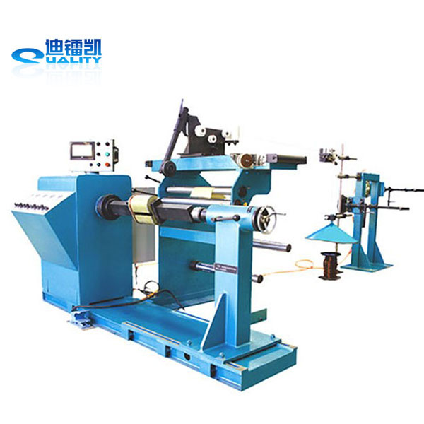 For distribution transformer making automatic coil winding machine