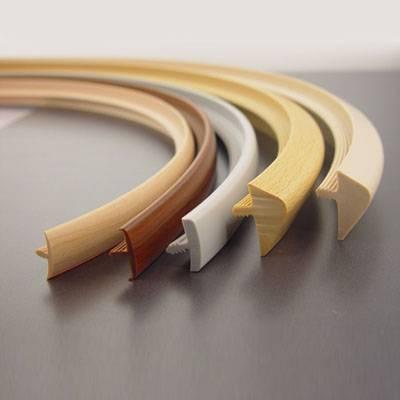T-mold/F-mold/U-shaped PVC Edge Profile