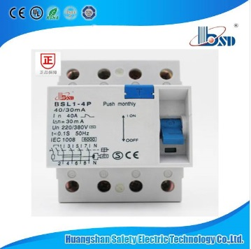 RCCB/ELCB/RCD/RCBO, with Lamp Indiactor Circuit Breaker