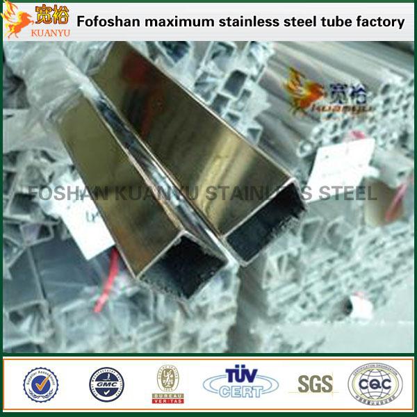 inox tube stainless steel rectangular pipe