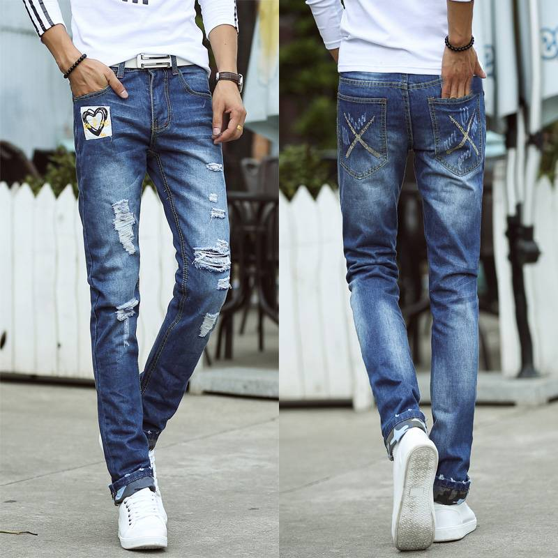 Fashion style men jeans high qualilty hot selling made in China